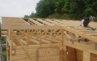 Wiązary dachowe czy tradycyjna więźba dachowa? Wilgotność elementów drewnianych